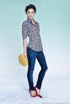 Las Oreiro otoño invierno 2014 moda.