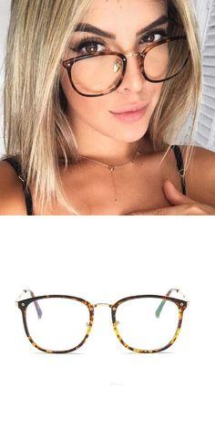 b06f09fd963 New Oculos De Grau Ultra Light TR90 Fake Eyeglasses Frames For Women Retro  Myopia Glasses Frame