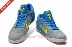 Blue Nike Kobe 9 Elite Low 677992-998