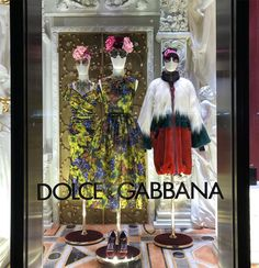 """DOLCE&GABBANA, 5th Avenue, New York City, USA, """"Listen Brenda... Don't beat yourself down about being the odd one out on fashion and beauty"""", photo by Cecilia Francos, pinned by Ton van der Veer The Odd Ones Out, 5th Avenue, Text On Photo, Visual Merchandising, Display Ideas, Ladder Decor, Window, Van, York"""