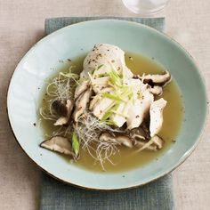 Chicken and Noodles in Spiced Broth
