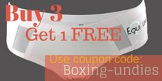 Boxing Day specials have come early at www.horses-store.com Special on Equi.Linn undies: Buy 3 pair (you can mix styles and sizes) and add a 4th pair to your order for FREE.