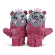 Sterntaler Girls Fäustel Otter dahlie - Schöner Fäustel aus Teddyflausch und Microfleece. Mit Daumen und süßem Tiergesicht, #Babymode #Accessoires #Babyhandschuhe