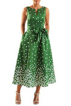 eShakti Women's Polka dot print dupioni midi dress XS-0 R... https://www.amazon.com/dp/B06XSF1HYV/ref=cm_sw_r_pi_dp_x_zHW8yb2XYABSK