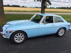 This 1974 MGB GT is a nicely restored example powered by a recently rebuilt 1800cc engine and 4-speed overdrive transmission. It features a refinished leather interior, new carpets, Lecarra steering wheel, new Panasport-style wheels, and Ansa exhaust. The car has been driven about 500 miles since th