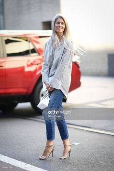 Sarah Harris seen on the streets of Manhattan during the New York Fashion Week on September 15, 2016 in New York City.