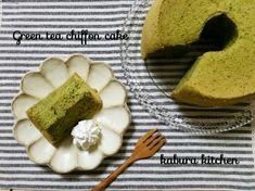 ノンオイル♡米粉の抹茶シフォンケーキ | ようこそ☆kaburaキッチン~グルテンフリー米粉パン教室&アレルギーおやつと毎日の給食代替え弁当~