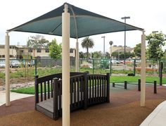 Maybe a simple shade structure Ada Accessible, Playground Safety, Gazebo, Pergola, Shade Structure, Shade Garden, Sales Representative, Shades, Outdoor Structures