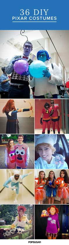 DIY Pixar Costumes | POPSUGAR Smart Living