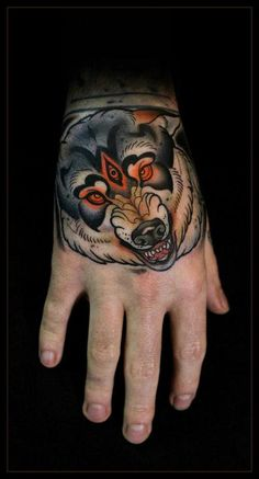 Sick hand tattoo. #tattoo #tattoos #ink reminds me of sommer from game of thrones