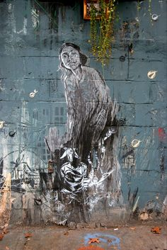 Street Art Par Swoon - New York City (NY) - Street-art et Graffiti | FatCap