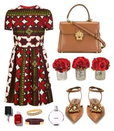 """♦️"" by beelovem ❤ liked on Polyvore featuring Dolce&Gabbana, Valentino, Marni, Halcyon Days, Chanel and The French Bee"