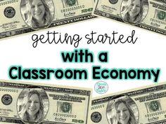 Financial literacy using a classroom economy Classroom Economy, A Classroom, Classroom Design, Classroom Management, Emotional Support Classroom, Teaching Economics, Math 5, Fifth Grade, Number Sense