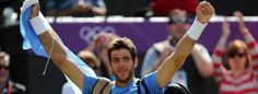 Del Potro wins Bronze medal in London 2012!