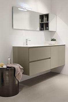 Baño moderno y práctico. Los muebles de baño dica resultan comodísimos para el uso diario aportando un diseño actual a tu hogar. Se fabrican a medida por lo que podrás aprovechar el espacio al máximo. #baños #bathroom #mueblebaño #diseño #design #mobiliario #furniture #interiors #deco #decor #ideasbaño #homedecor #diseñointerior #casa #home #tailormade #amedida