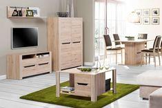 Masa de cafea Desjo 41, L80xl80xh46 cm #homedecor #inspiration #interiordesign #livingroom Wall Installation, Outdoor Furniture Sets, Outdoor Decor, Interiores Design, Wall Shelves, Wood Wall, Natural Wood, Decorative Pillows, Entryway