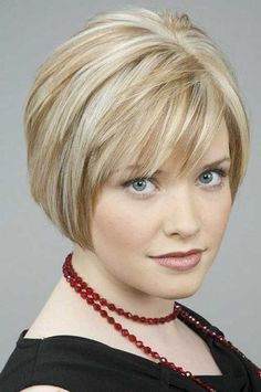 15 Bobs Hairstyles for Round Faces   Bob Hairstyles 2015 - Short Hairstyles for Women