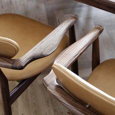 Finn Juhl - 109 Chair Arm Details