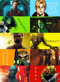 They call themselves the Guardians of the Galaxy. via: http://thejimkirk.tumblr.com/post/77204770876