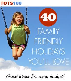 Celebrating Summer with 40 Family-Friendly Holiday Destinations Budget Holidays, Holidays With Kids, Family Friendly Holidays, Family Holiday, Toddler Travel, Travel With Kids, Family Days Out, Friends Family, Crazy Life