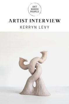 Artist feature and interview with ceramicist Kerryn Levy Contemporary Artists, Ceramic Art, Amazing Art, Interview, Illustration Art, Ceramics, How To Make, Ceramica, Pottery