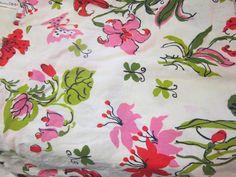 vintage cotton fabric