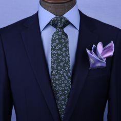 Dark Green Floral Necktie Business Formal Elegance For Smart Men's Ego - GQ Shirts Fancy Suit, Fancy Pants, Fancy Dress, Smart Men, Business Formal, Business Shirts, Gq, Anglo Saxon, Mens Fashion