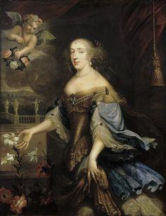After 1662 Anne Marie Louise d'Orléans, Duchesse de Montpensier by Pierre Mignard (Versailles)