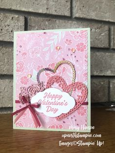 meant to be - foil - mary hanson - up north stampin' Valentine Love Cards, Happy Valentines Day, Valentine Ideas, Valentine's Cards For Kids, Tampons, Creative Cards, Anniversary Cards, Homemade Cards, Stampin Up Cards