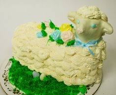 Easter lamb. Cake | Easter Lamb Cake