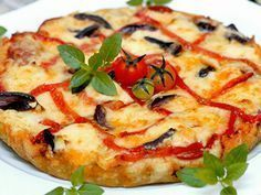 Pizza Crocante do Àlvaro Rodrigues Pizza Mania, Pasta, Brunch, Calzone, Pizza Hut, Fun Cooking, Pizza Recipes, Vegetable Pizza, Food And Drink