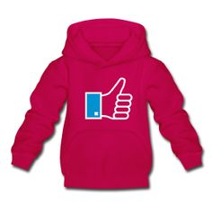 Like Hoody   Kinder Kapuzenpullover  Kuscheliger Kapuzenpullover für Kinder, 80% Baumwolle und 20% Polyester, Marke: B
