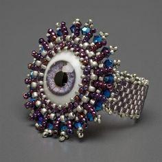"""""""Doll's Eye Ring"""" Kit, violet eye"""