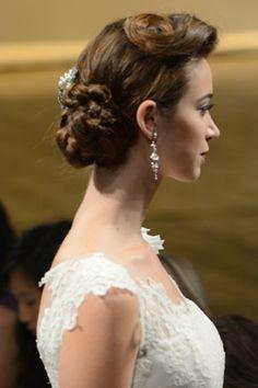 Best Bridal Dos; Autumn/Winter 2013 Brides (BridesMagazine.co.uk) Retro hår
