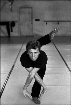"""I do not try to dance better than anyone else. I only try to dance better than myself."" ~ Mikhail Baryshnikov"