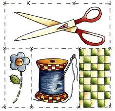 Ideal para decorar proyectos d costura.