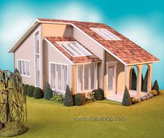 Contemporary Ranch Dollhouse Kit by Real Good Toys