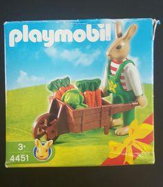 PLAYMOBIL - 4451 Papa Lapin avec brouette