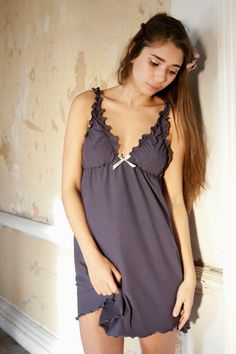 47595ade43 Summer Sale Nightgown and Panty Set - Organic Cotton.