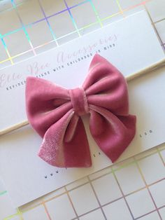 Velvet Sailor Bow 15 COLOR CHOICES Sailor Bow Velvet Hair