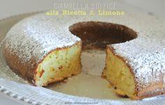Ricotta and Lemon Cake/ Ciambella alla ricotta e limone #ricotta #lemon