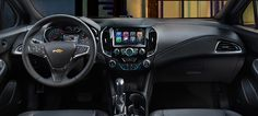 The 2016 Cruze comes with a colour touch-screen MyLink system. 2016 Cruze, Chevrolet Cruze, Vehicles, Color, Touch, Cars, Colour, Autos, Car