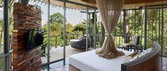 TREE POOL BEDROOM