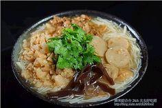 米粉羹&沙茶豆簽麵食譜