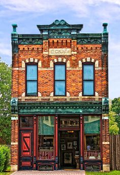 Englebert Grimm, a German immigrant, sold and repaired watches, clocks and jewelry for 45 years in this late 1880's shop. The shop was originally located on Michigan Avenue in Detroit, from 1886 until 1931. Henry Ford bought the shop and restored it to it's original 1880's look.