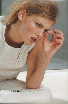 viviennewestwouldnt:  angela lindvall for prada fw98 ph norbert schoerner