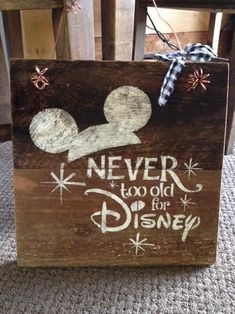 Rustic Barnwood Disney Sign Two Day Priority Shipping Rustic and unique barnwood designs. All signs are hand made, hand crafted, and hand painted. Every piece is unique and made to order. Crafts For Teens To Make, Crafts To Sell, Diy And Crafts, Sell Diy, Disney Crafts For Adults, Crafts To Make And Sell Unique, Easy Crafts, Wooden Crafts, Crafts