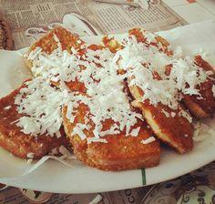 #Αυγοφέτες με #φέτα #cookpadgreece Pancakes, French Toast, Brunch, Baking, Breakfast, Foods, Food Food, Food Items, Crepes