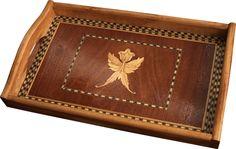 Hand made wood tray