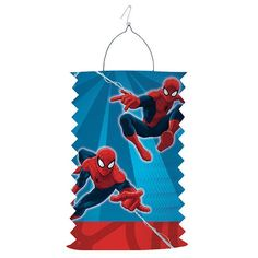 "Laterne ""Spiderman Party"" 28 cm"